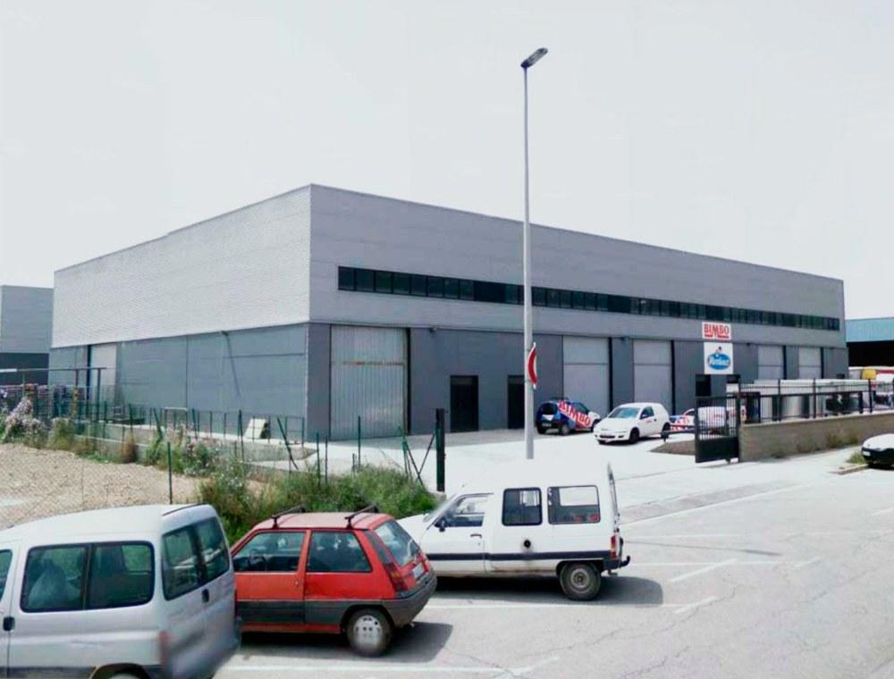 Fachada Nave industrial en Sant Feliu, calle Sant Josep